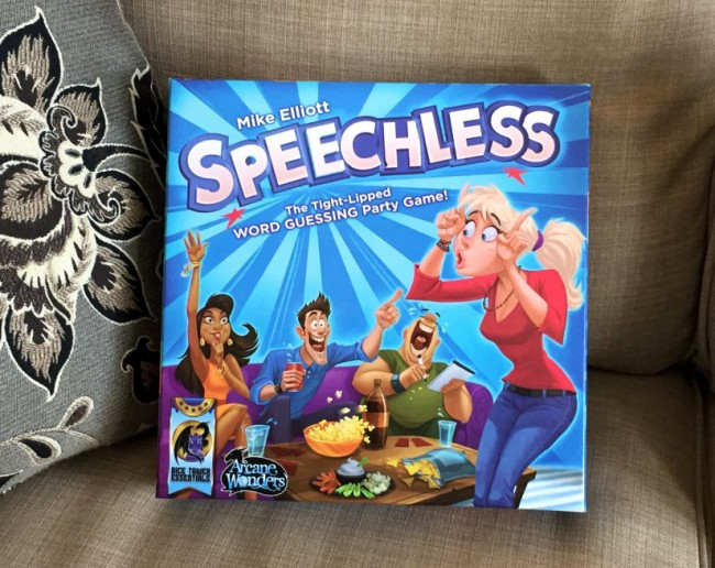 Speechless party game