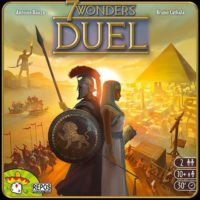 7 Wonders Duel card game box