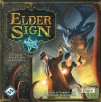Elder Sign board game box