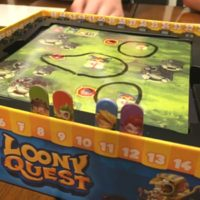 Loony Quest board game gift