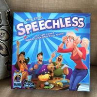 Speechless party game gift