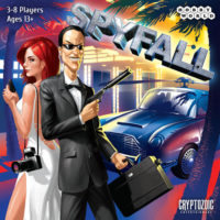 Spyfall party game box