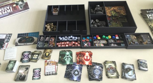 Star Wars Imperial Assault Insert Here game insert
