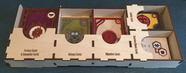 Scythe Factory Meeple Realty game insert