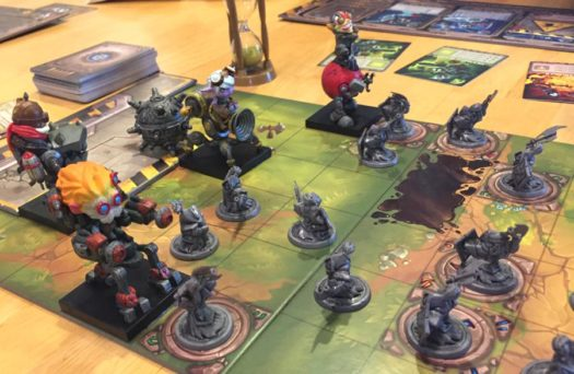 Mechs vs. Minions board game