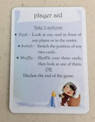 3 Wishes card game