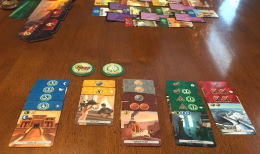 7 Wonders Duel card game