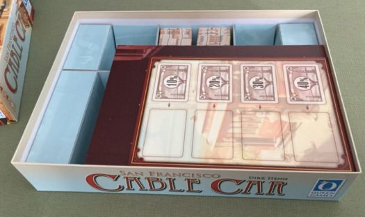 Cable Car board game inside