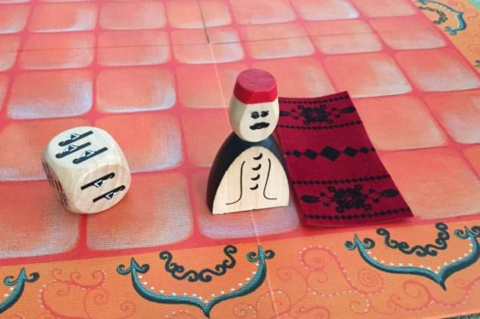 Marrakech board game