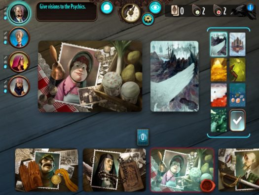 Mysterium digital board game