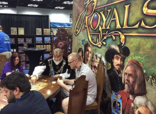 Royals board game Gen Con