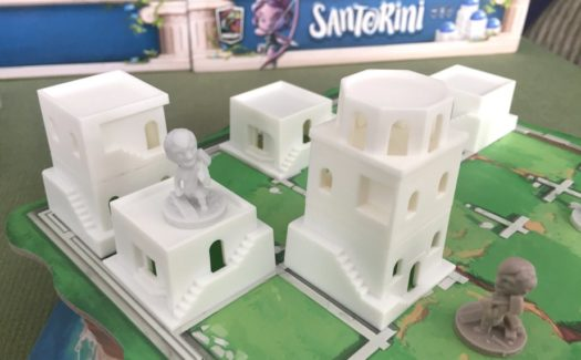 Santorini board game