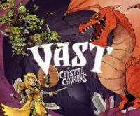 Vast the Crystal Caverns board game