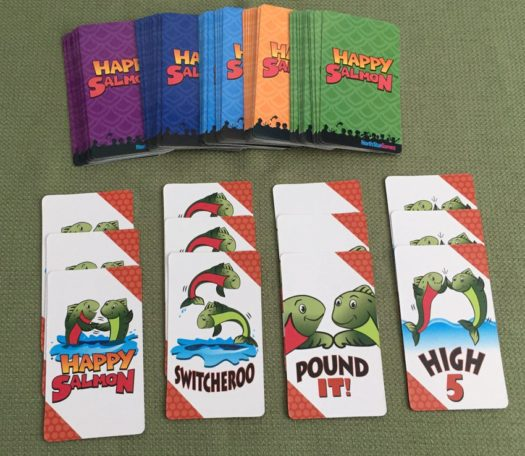 Happy Salmon party game