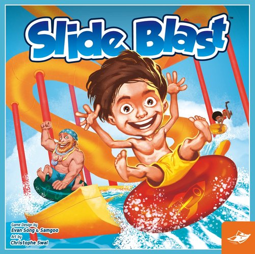 Slide Blast family board game