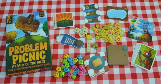 Problem Picnic board game