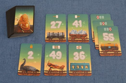 Game of Trains card game