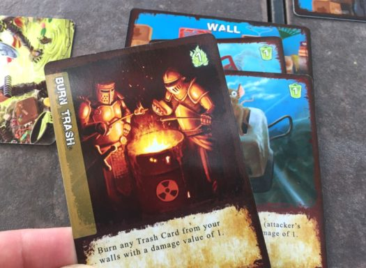 Trash War card game