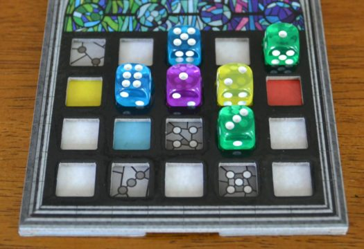 Sagrada dice game