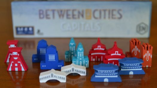 Between Two Cities: Capitals board game