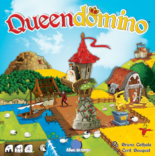 Queendomino family board game