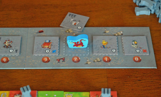 Queendomino board game
