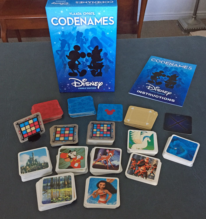 Codenames: Disney Family Edition board game review - The Board Game Family