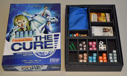 Insert Here game insert Pandemic The Cure