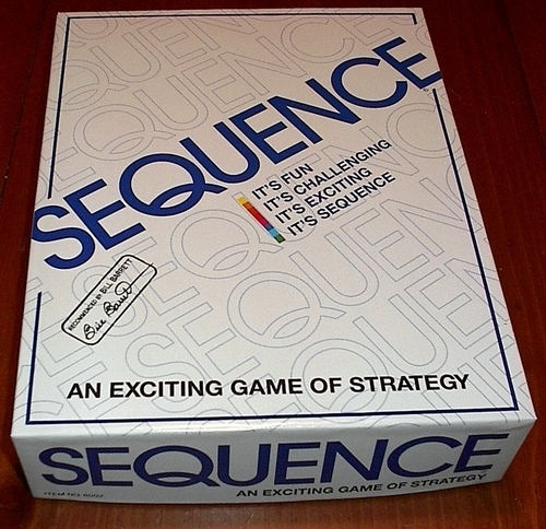 sequence a must have family game the board game family