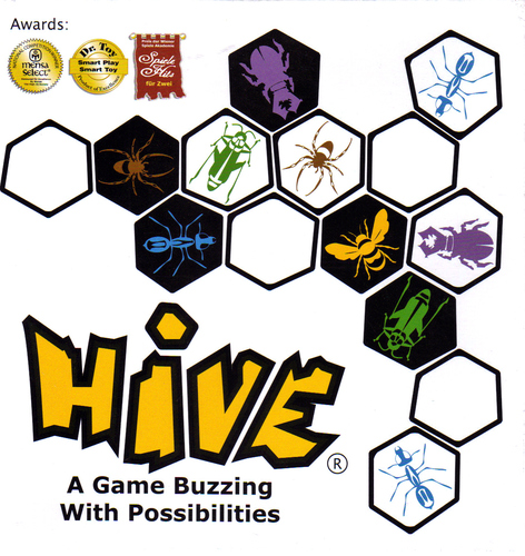 Hive - A Terrific 2-Player Game - The Board Game Family image