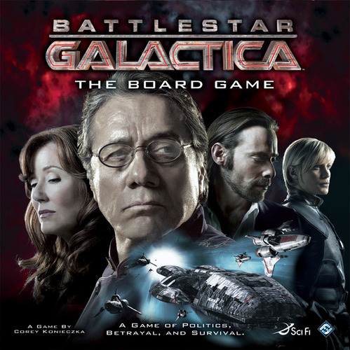 Battlestar Galactica: The Board Game - so awesome! image