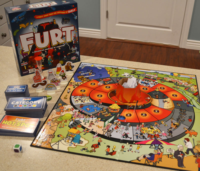 Furt Party Game Review The Board Game Family