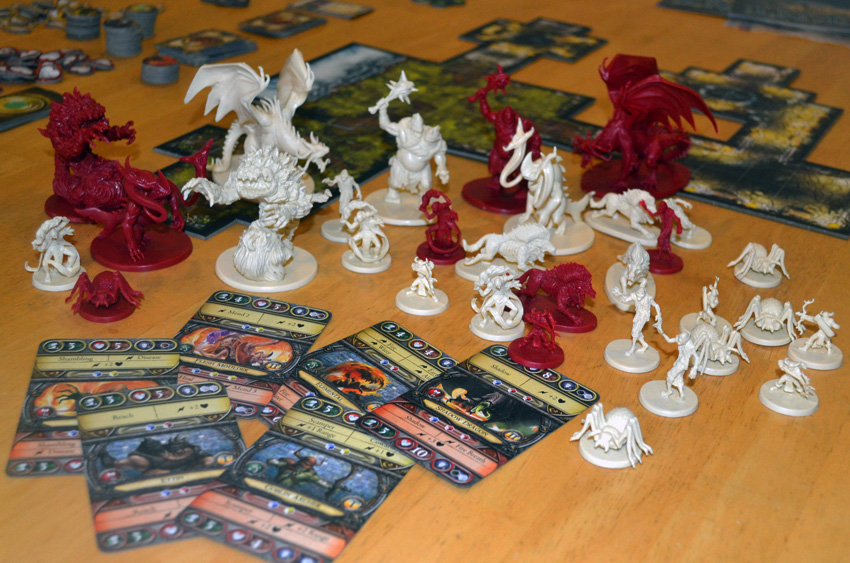 Descent Journeys In The Dark 2nd Edition Board Monsters