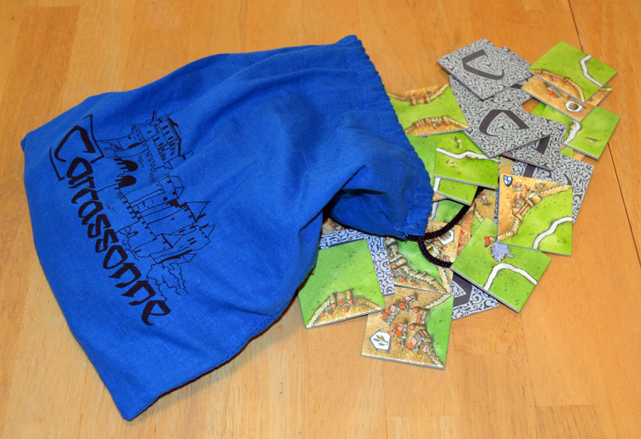 Carcassonne Tile Bag