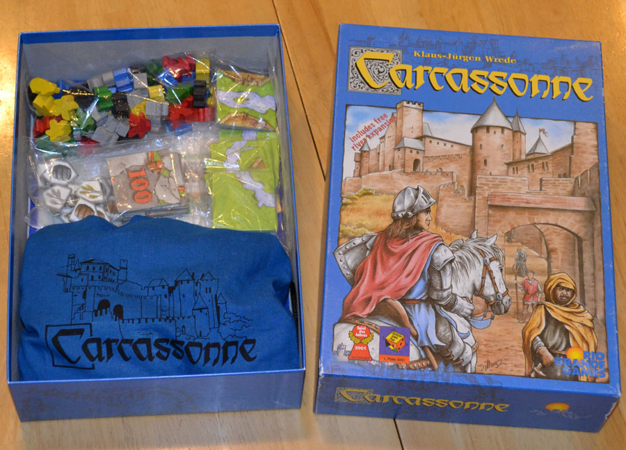 Carcassonne The River Mini Expansion Review The Board Game Family