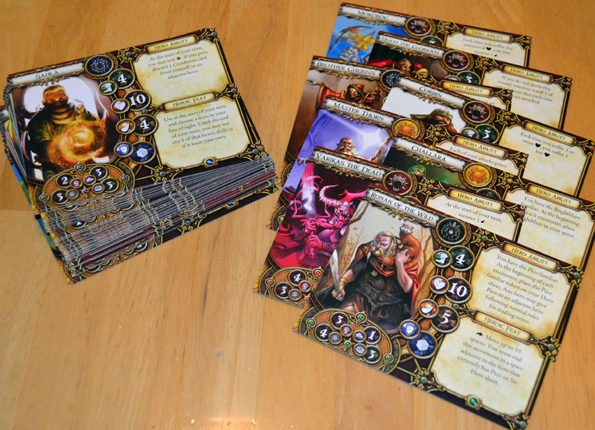 Descent Journeys In The Dark 2nd Edition Conversion Kit Heroes