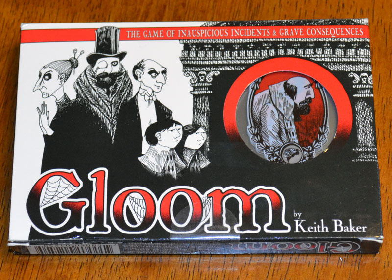 Gloom card game review - The Board Game Family