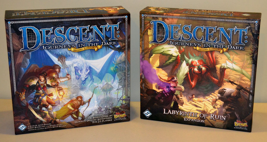 Descent Journeys In The Dark Jam Packed The Board Game