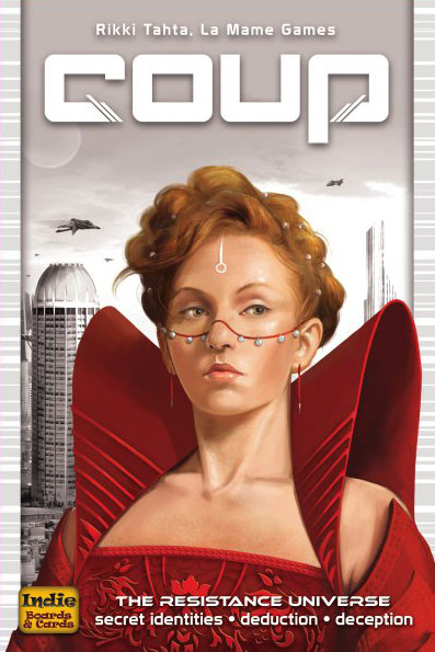 Coup card game review - The Board Game Family image
