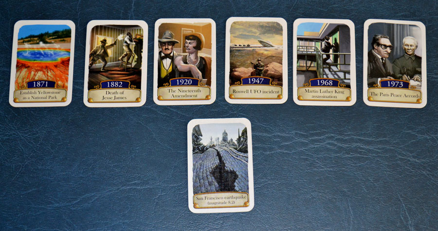 Timeline: American History card game review