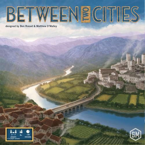 Between Two Cities board game review image