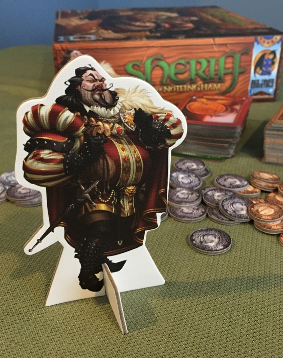 Sheriff of Nottingham social deduction game review image