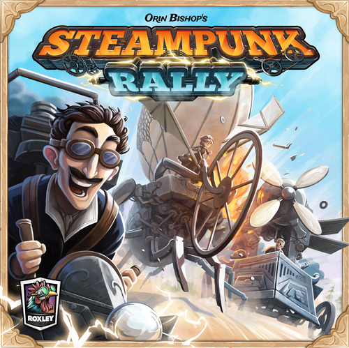 Steampunk Rally building & racing fun! - The Board Game Family image