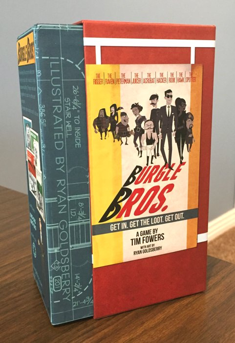 Burgle Bros. is a great cooperative board game - The Board Game Family image