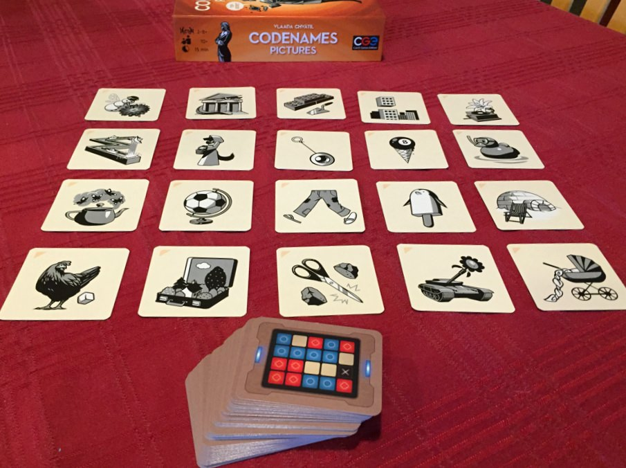 Codenames Pictures is better than the original - The Board Game Family