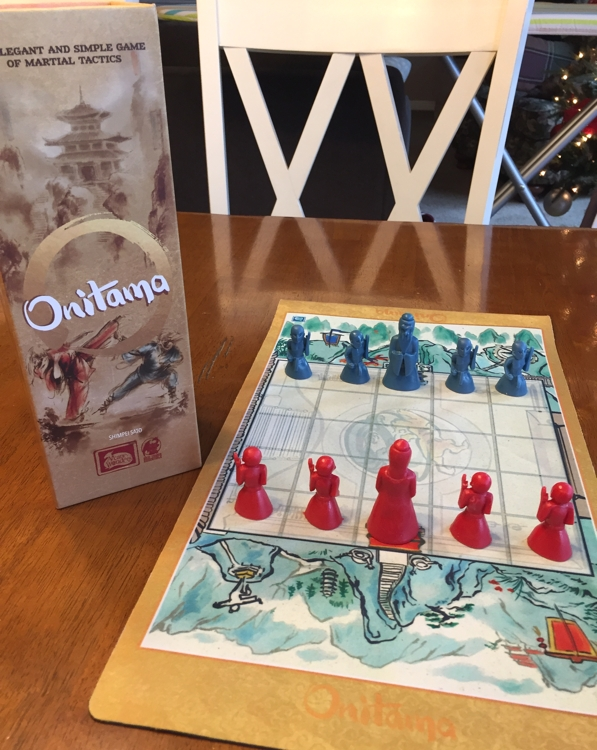 Onitama - 2 player strategic fun - The Board Game Family image