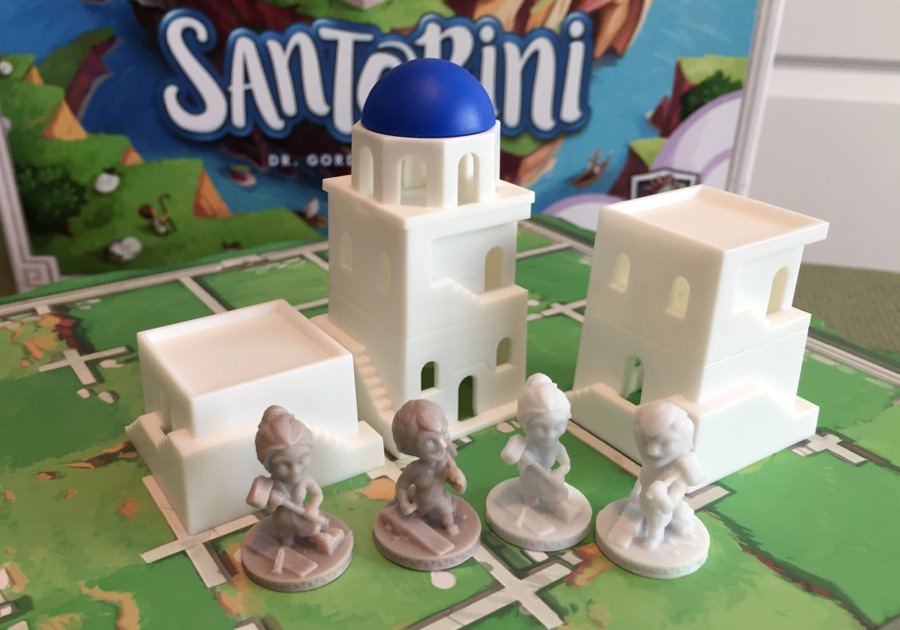 Santorini rocks as a 2-player board game! - The Board Game Family