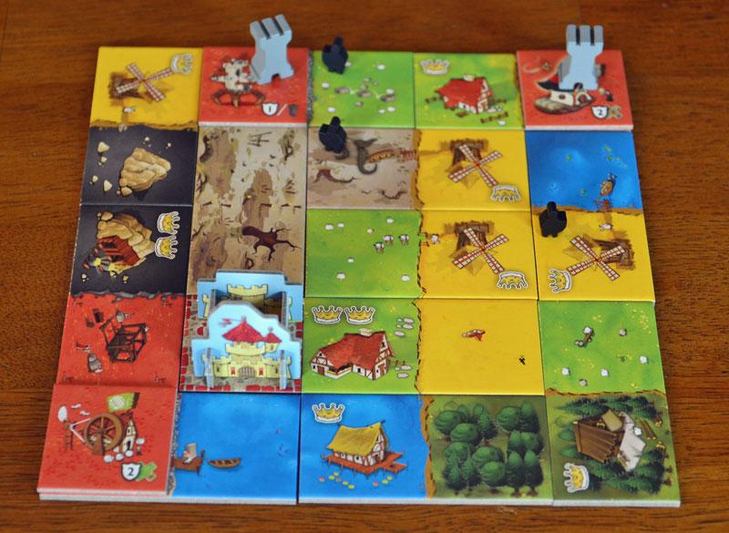 Spiel Queendomino Gesellschaftsspiele
