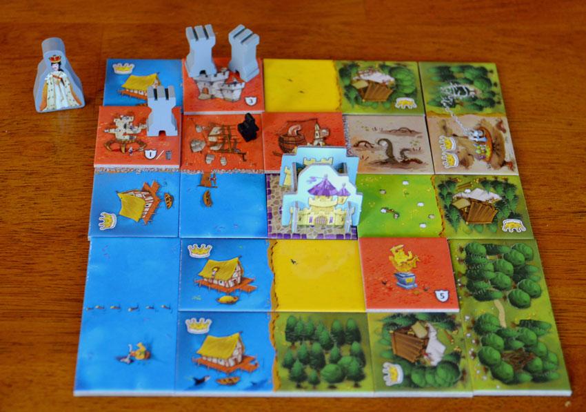 Spiel Queendomino Spiele