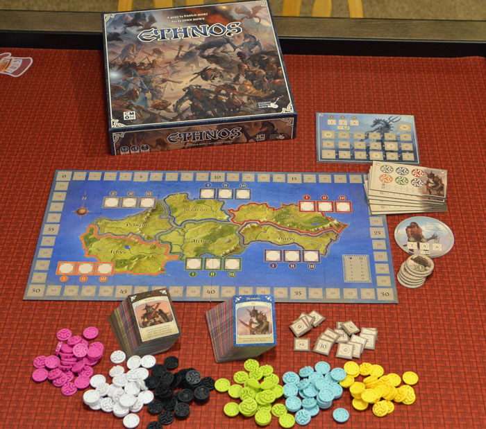 It's a tribe battle for supremacy in Ethnos - The Board Game Family image